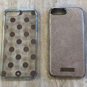 2 Kate spade ♠️ iPhone 7 Plus cases